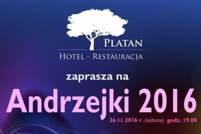 Hotel-Restauracja PLATAN Andrzejki